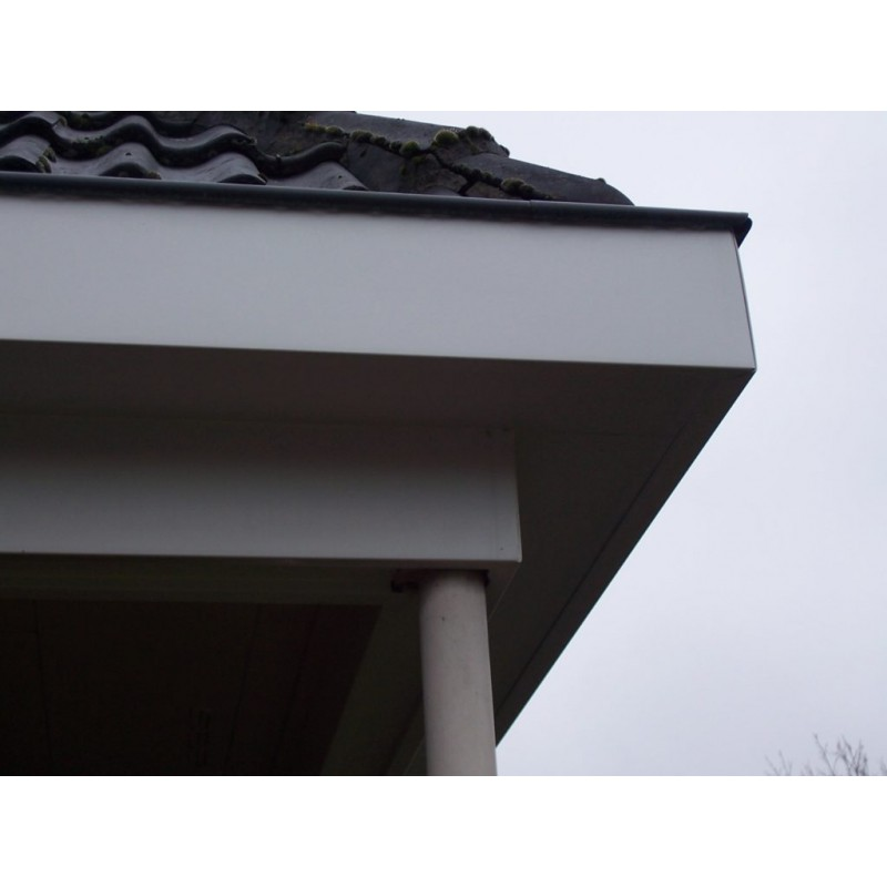 Hoekdetail carport